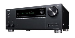Picture of TXRZ740B: ONKYO 9.2 Channel Network Receiver 185W P/CH, THX SELECT Certified IMAX Enhanced, Apple Airplay2 Powered Zone 2/3, Zone B Line Out Works with Google Assistant, App Control, Colour - Black