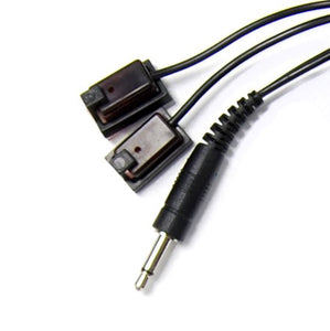 Picture of IR5000EM: BRATECK 2m Dual Head Emitter Cable for IR6000/IR5050 Repeater Kit