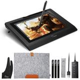 "Parblo 10"" Drawing Tablet W/Battery-free Pen And Anti-fouling Glove"