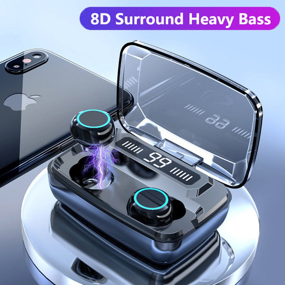 Fingerprint Touch Waterproof sports headset For Iphone And Samsung
