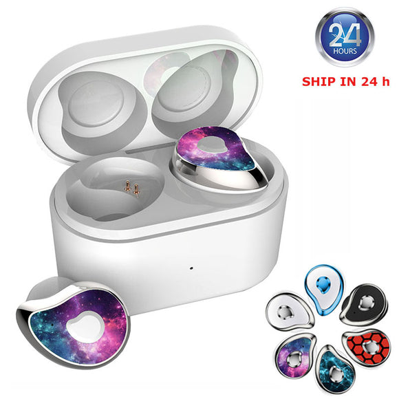 Wireless Mini Waterproof Earbuds W/Charging Box