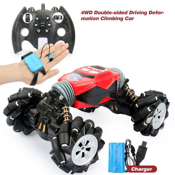 4WD Double-Sided Driving Deformation Remote Control Car W/ Gesture Sensing Drift