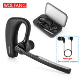 New V8  Bluetooth Wireless w/Noise Cancelling Earbuds with Box