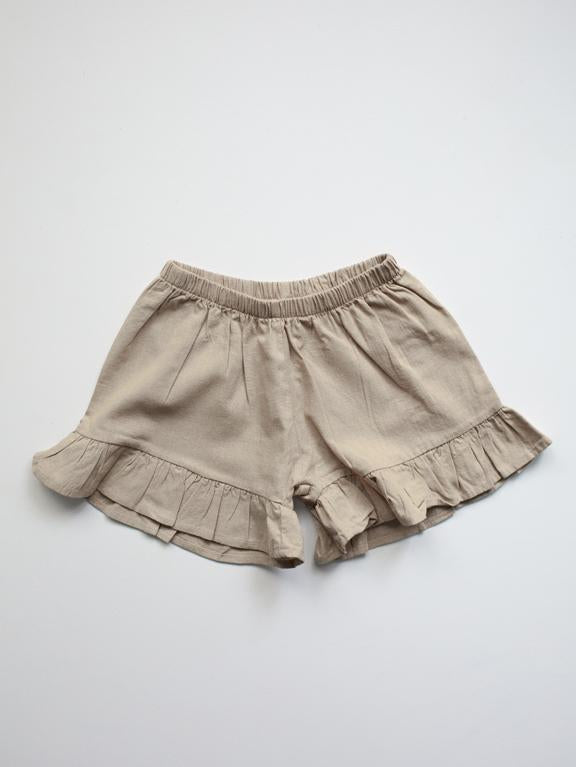 The Frill Linen Short