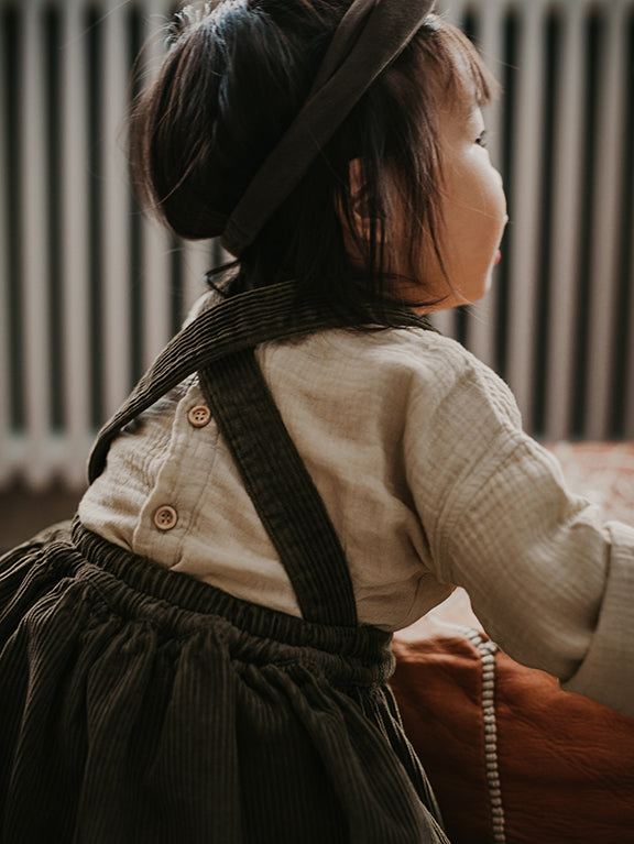 The Corduroy Pinafore