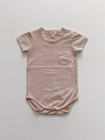 The Short Sleeve Pocket Onesie
