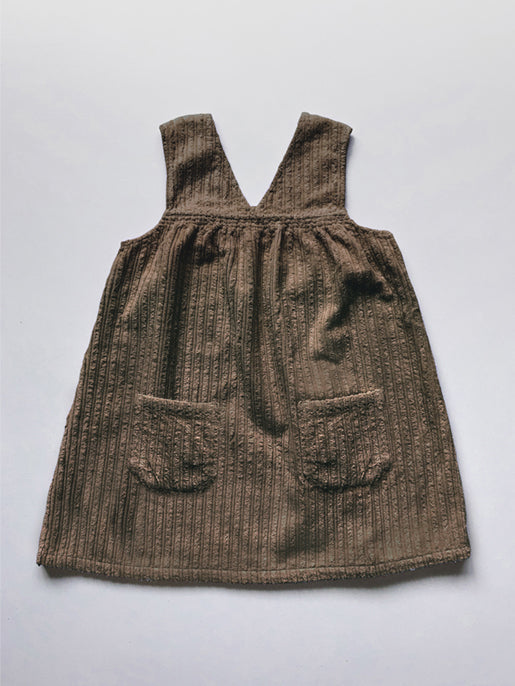 The Vintage Corduroy Overdress