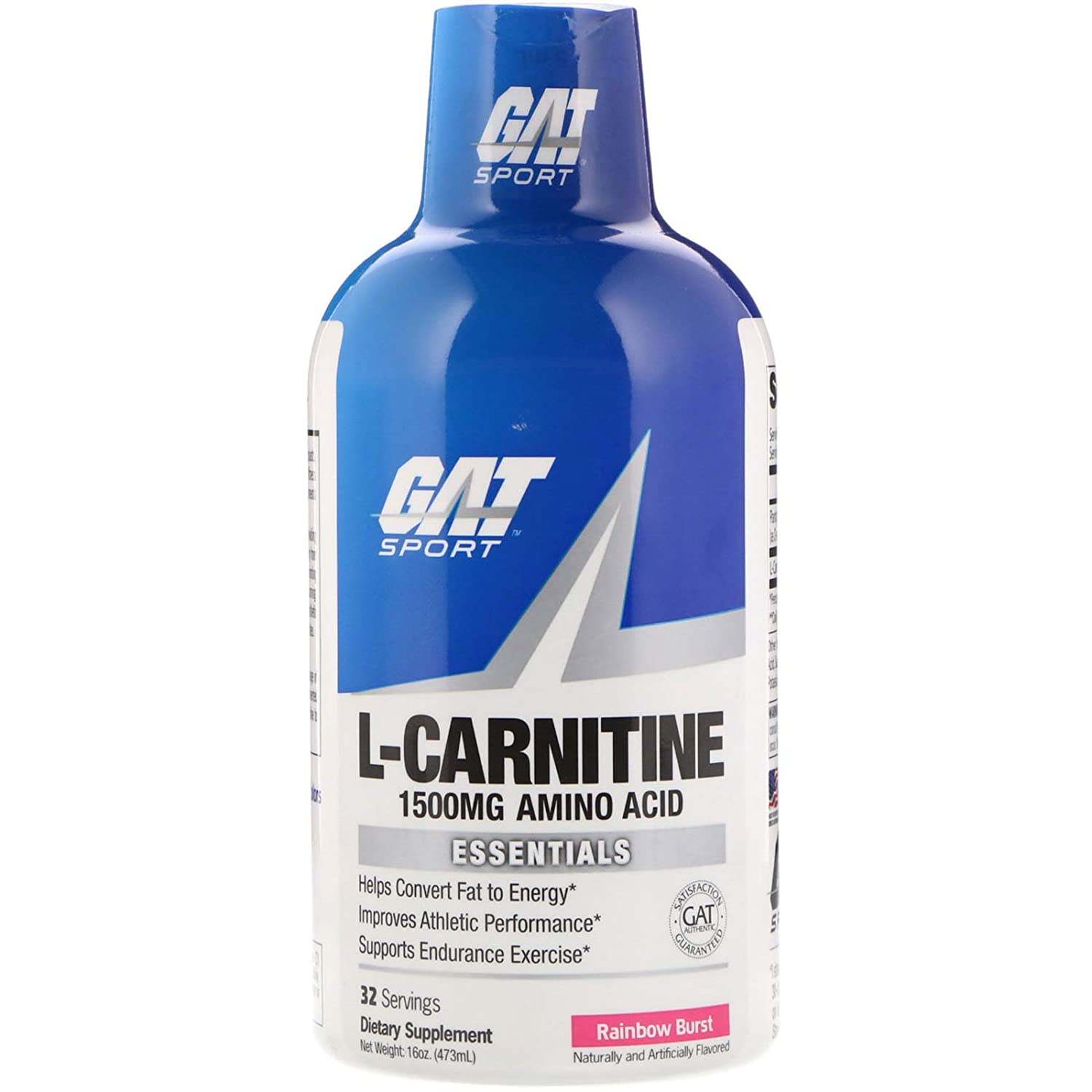 GAT L-Carnitine 1500 16Oz - Rainbow Burst