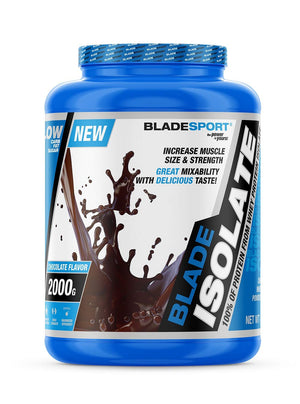 Open image in slideshow, BLADESPORT Blade Isolate 100% Whey Protein Isolate