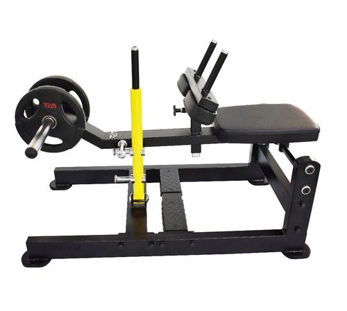 Seated calf stand D- base