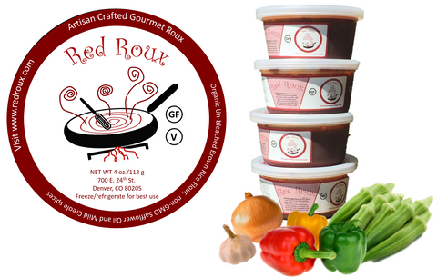 Colorado Red Roux (GF)  4 pack - 1 Pound! (16 oz)