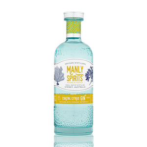 Manly Spirits - Coastal Citrus Gin | Lillywhite & Brown Spirits Store