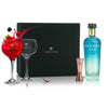Gin Glass Gift Set with Mermaid Gin, 70cl