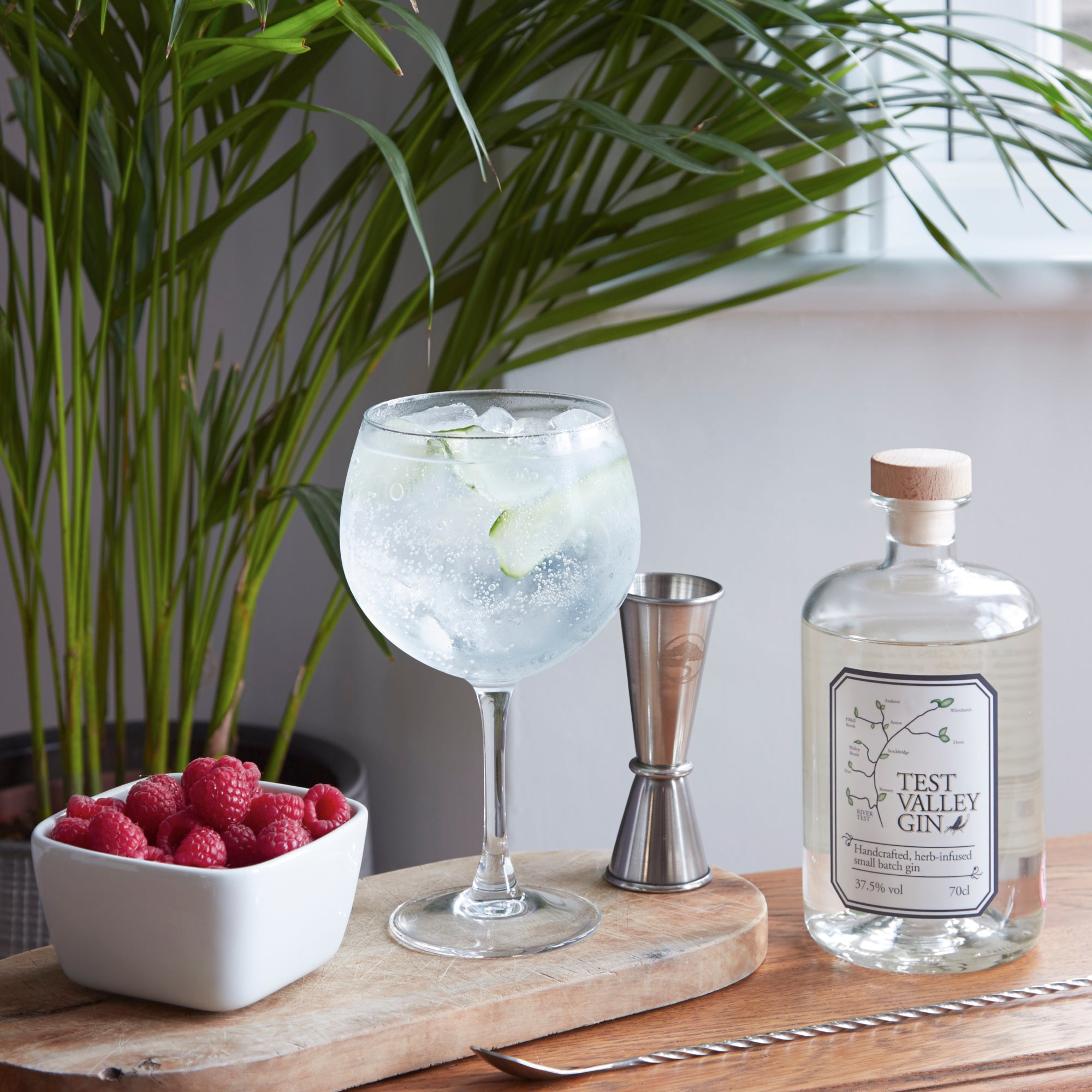 Test Valley Gin, Wessex Spirits sold by Lillywhite & Brown