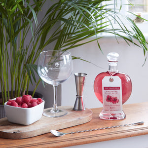 Pink Heart Gin, Wessex Spirits, sold by Lillywhite & Brown