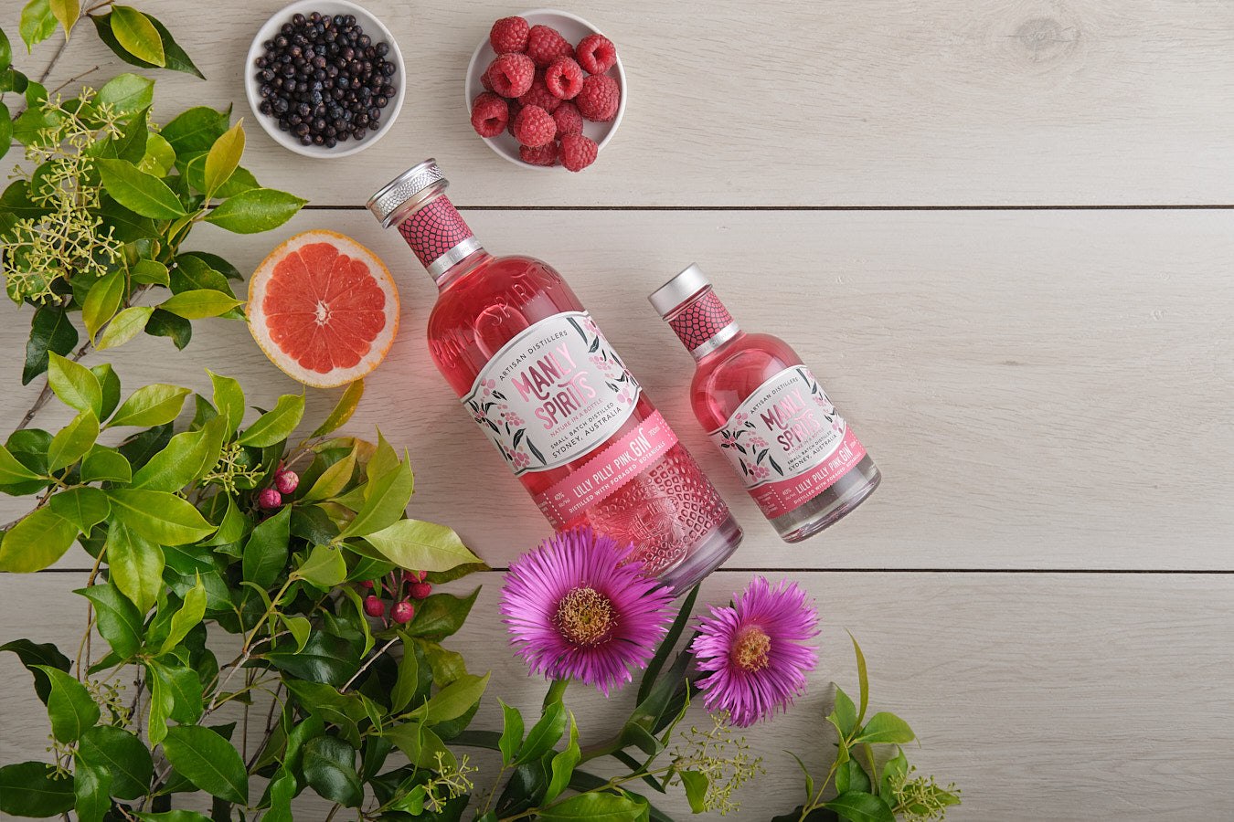 Manly Spirits - Lilly Pilly Pink Gin | Lillywhite & Brown Spirits Store