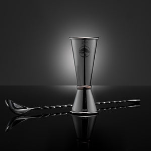 Spirit Measure & Twisted Cocktail Spoon Set