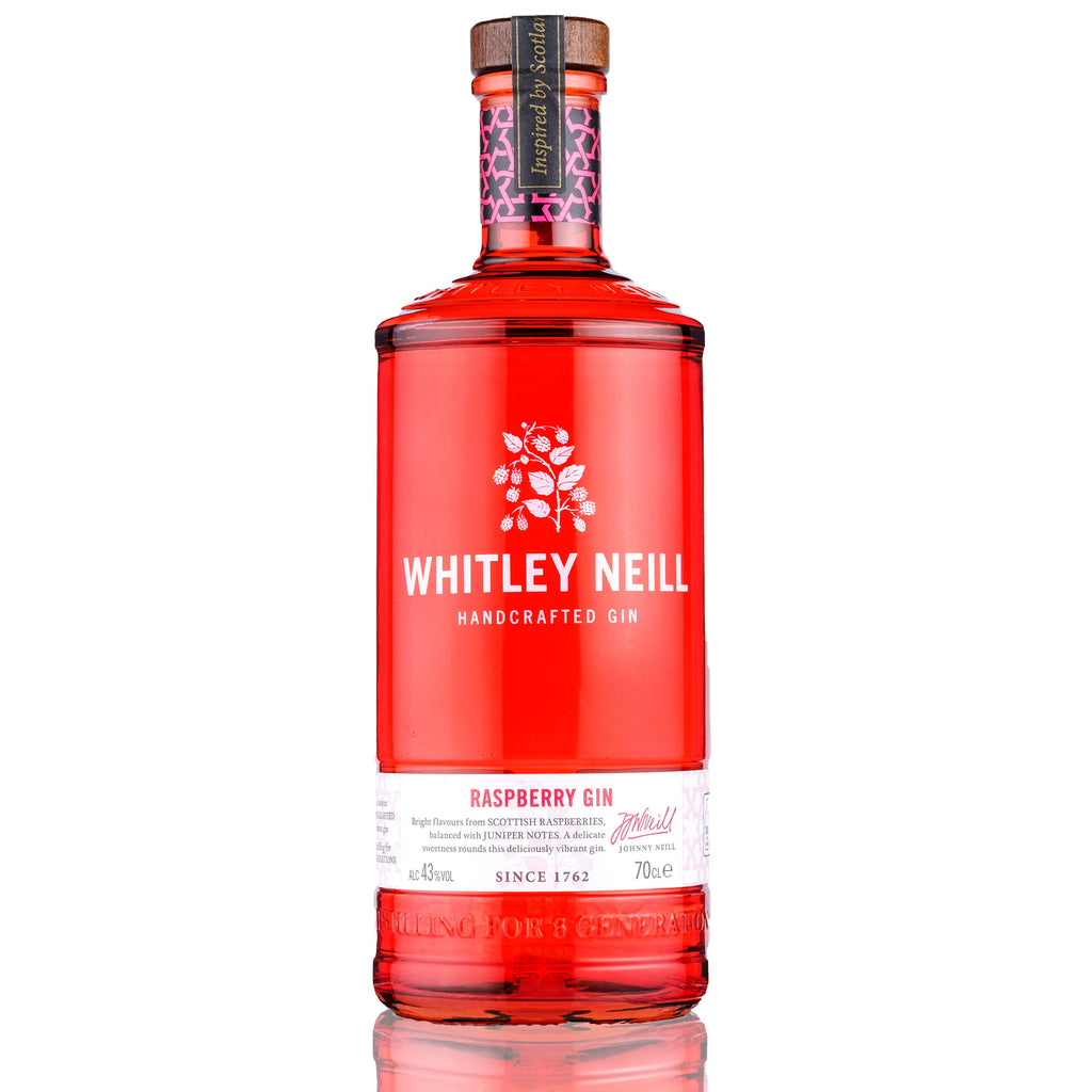 Whitley Neill Raspberry Gin, 70cl