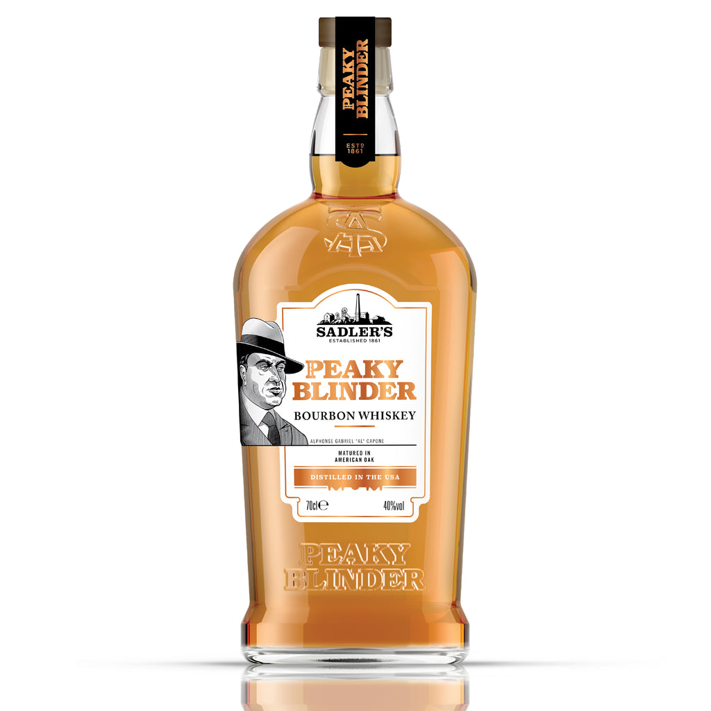 Peaky Blinder Bourbon Whiskey, 70cl