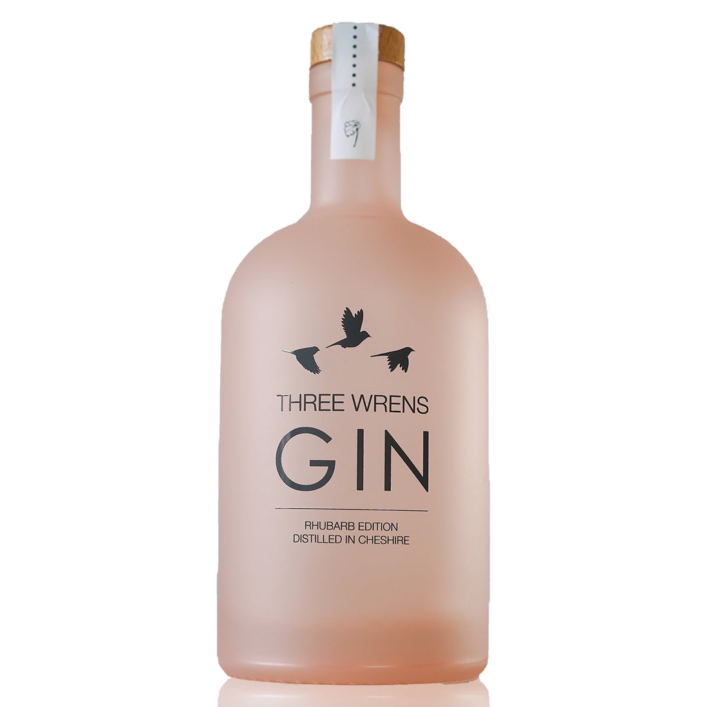 Three Wrens Rhubarb Edition Gin, 70cl