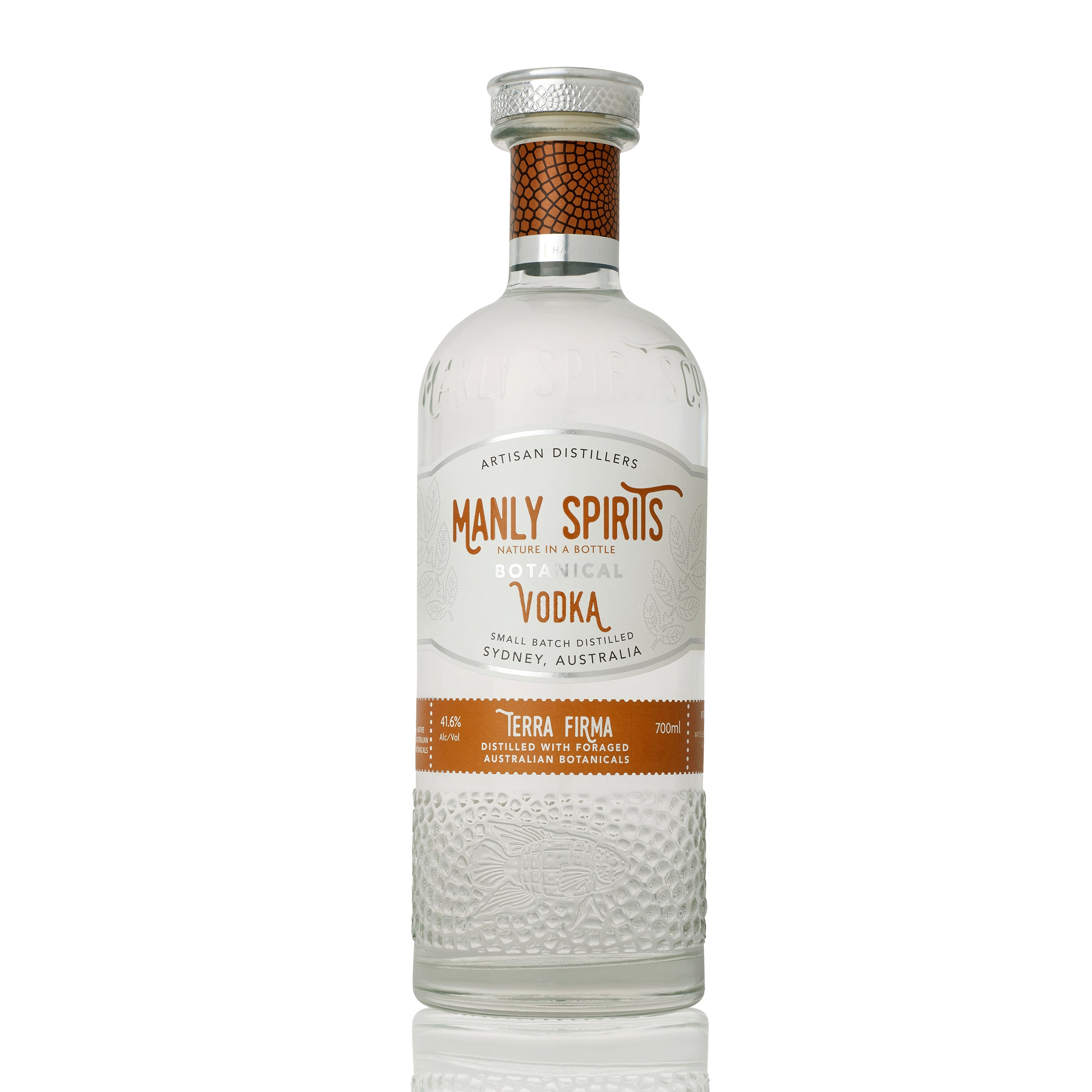 Manly Spirits - Terra Firma Vodka | Lillywhite & Brown Spirits Store