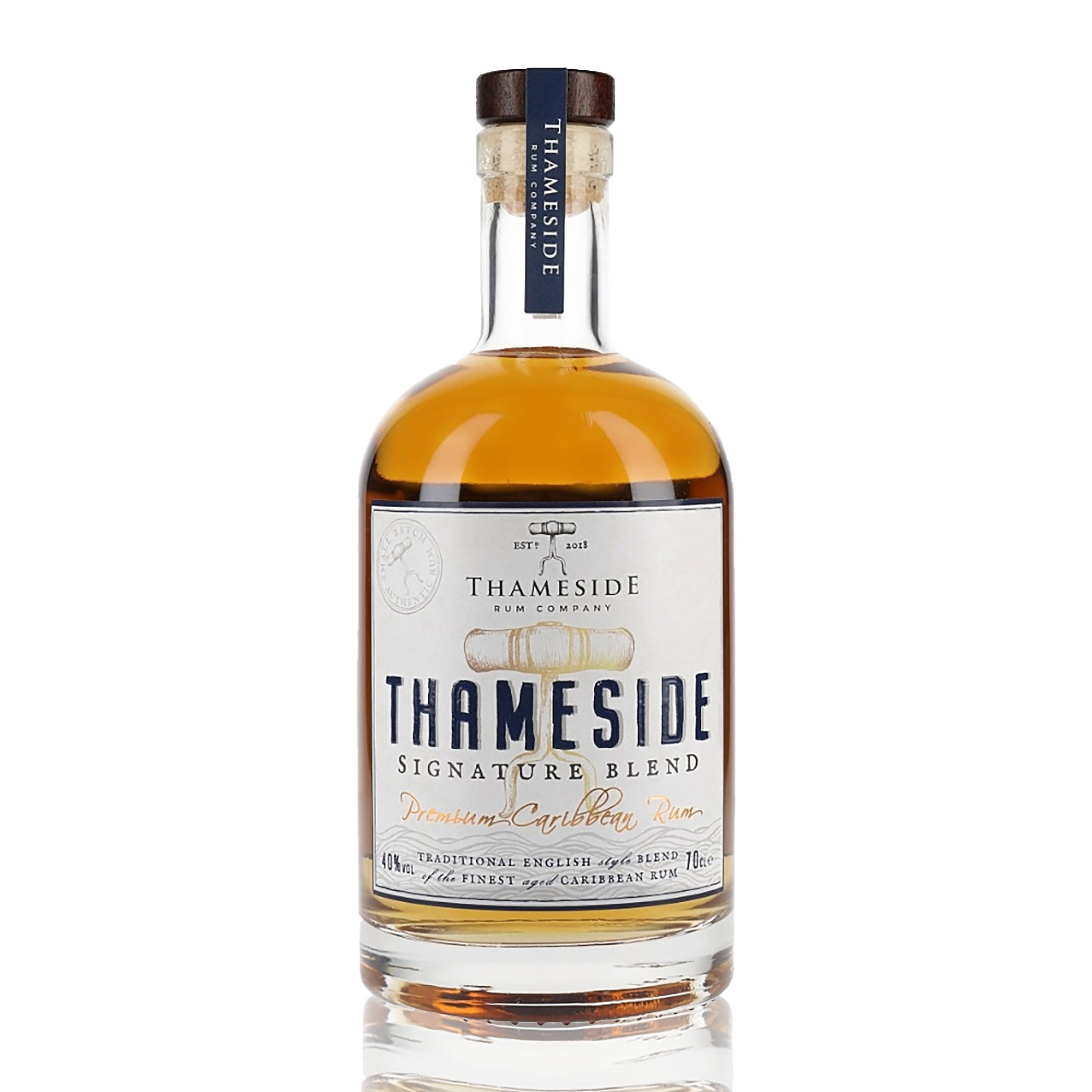 Thameside Signature Blend Rum, 70cl