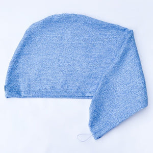 Turbante antifrizz Azul