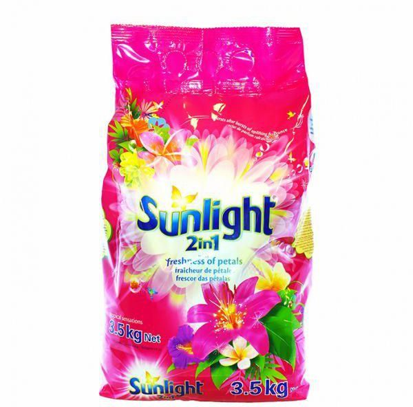 Sunlight Spring Sensations Washing Powder 3.5kg 1 carton PINK
