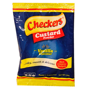 Checkers Custard Powder Banana Flavour 50g x 120