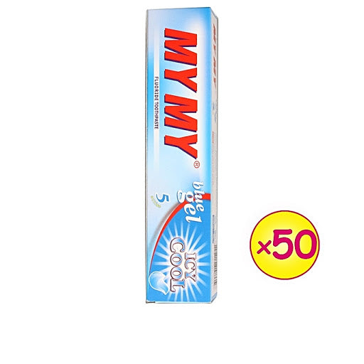 MY MY BLUE GEL TOOTHPASTE 125G x50