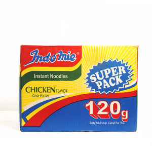 Indomie Super Pack Chicken Noodles - 120g (1 Carton)