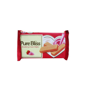 Pure Bliss Strawberry Wafers (Pack of 12)