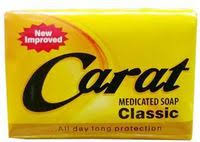CARAT MEDICATED SOAP (CLASSIC) 65g x 6