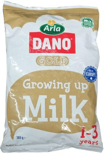 Dano Gold Growing Up 1-3years  Refill 380g 1 carton
