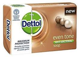 Dettol Soap Even tone 65g x 6 (1 Pack)