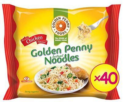 Golden Penny Chicken Noodles 70g x40