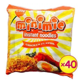 Minimie Instant Chicken Noodles 100g X 40