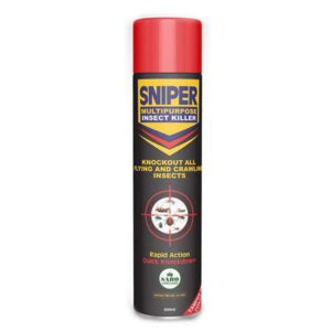 SNIPER MULTIPURPOSE INSECT KILLER - 600mls x 24 (1 Carton)