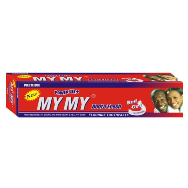 MY MY DENTA FRESH RED GEL TOOTHPASTE 125g x50