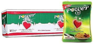 Power Vegetable Oil Sachet 120ml X 50
