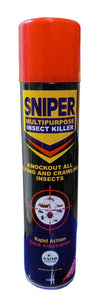 SNIPER MULTIPURPOSE INSECT KILLER - 300mls x 24 1carton
