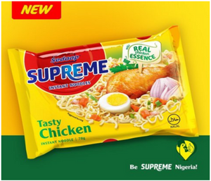 Supreme Tasty Chicken Instant Noodles 70g X 40