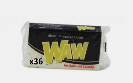 WAW Laundry Bar 130g X 39pieces