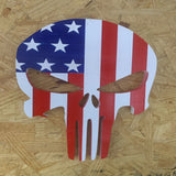 Punisher wooden plaque