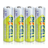 4Pc AA  Rechargeable Batteries