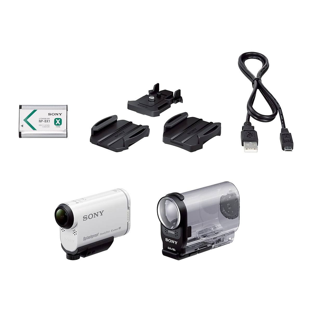 AS200V Action Cam with Wi-Fi & GPS