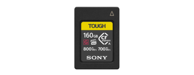 CEA-G Series CFexpress Type A 160GB Memory Card