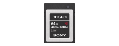 XQD G Series 64GB Memory Card