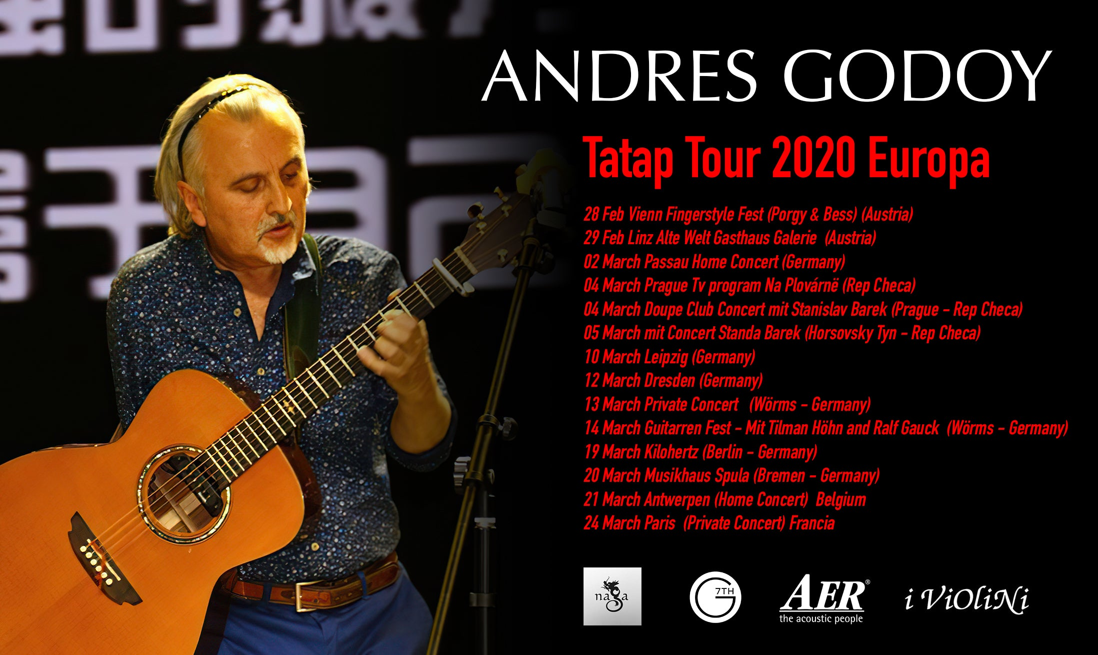 Now on Tour... Check the dates and join the Tatap tour 2020