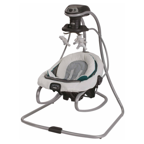 Graco DuetSoothe Baby Swing and Rocker   Wumblekin Pregnancy Education and Essentials